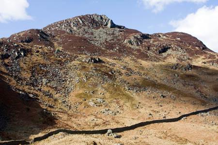 Heron Pike marks the eastern end of the Sheffield Pike plateau