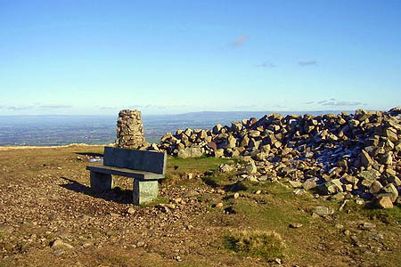 The summit of High Pike. Photo: Steven Ruffles CC-BY-SA-2.0