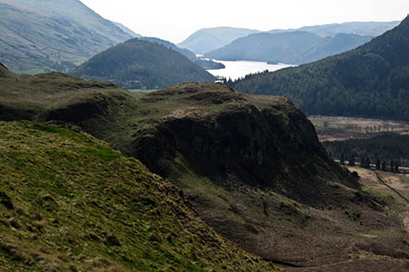 High Rigg stands at the northern end of Thirlmere. Photo: Peter Turner CC-BY-SA-2.0