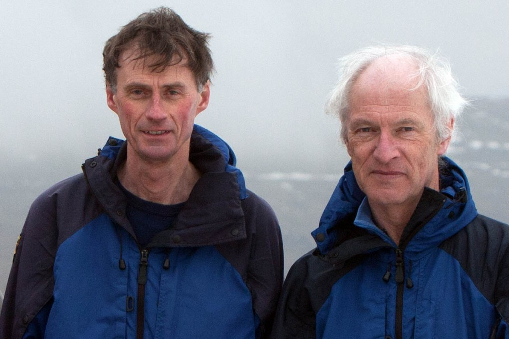 Graham Jackson, left, and John Barnard. Photo: Bob Smith/grough