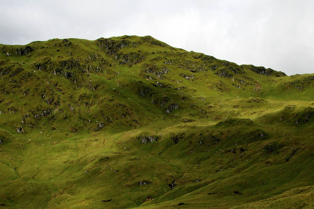 Creag na Caillich, once a munro top but now confirmed as being under 3,000ft high. Photo: Myrddyn Phillips