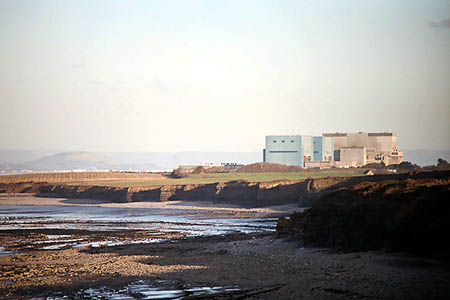 Hinkley Point nuclear power station on the Somerset section of the coast path. Photo: Richard Baker CC-BY-SA-2.0