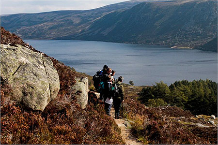 Volunteer path surveys on Lochnagar