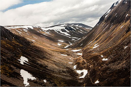 The Cairngorms attract 1.4 million visitors each year