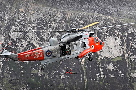 Police will mobilise mountain rescue and other services to incidents in the hills. Photo: Stuart Hill/Royal Navy/Crown Copyright