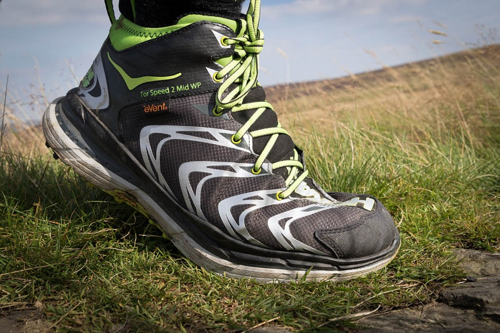 The Hoka One One Tor Speed 2 WP. Photo: Bob Smith/grough