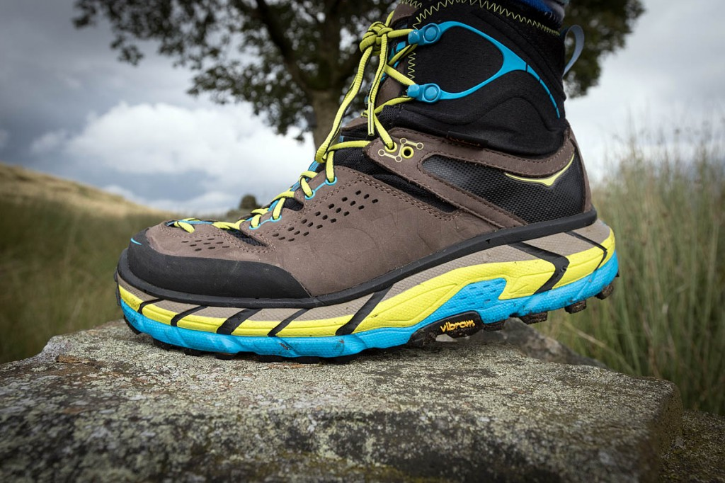 Grip from the Vibram soles was excellent