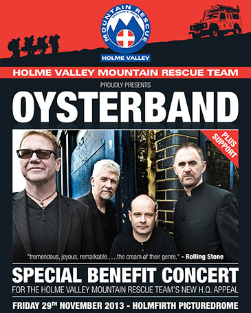 Oysterband will play the gig to raise cash for the appeal