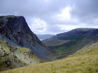 The zip wire is planned to start on the crags on the left. Photo: Alan Faulkner CC-BY-ND-2.0