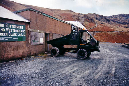 The slate mine at the time Mr Weir took it over