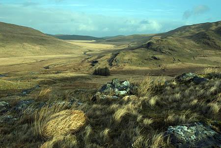 Cwm Hyddgen from Pumlumon. Photo: ©Tom Hutton