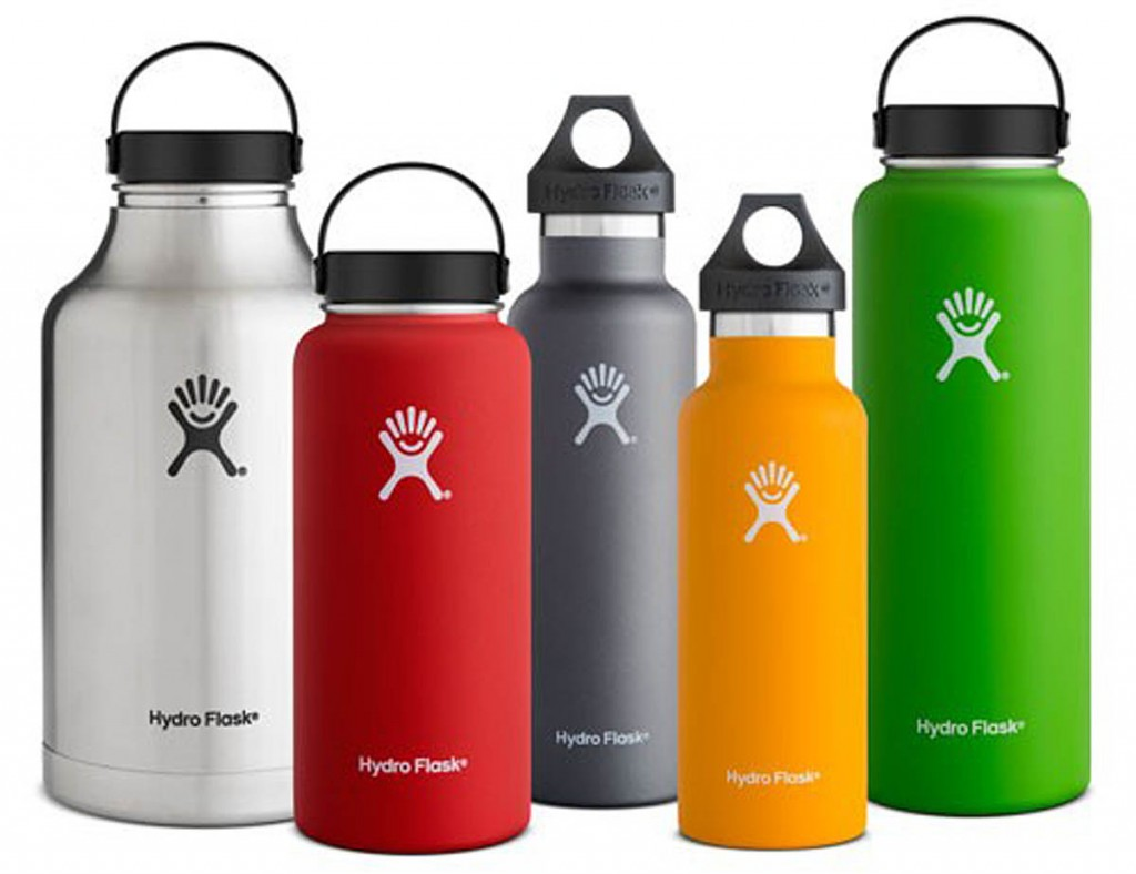 Some of the Hydro Flask range