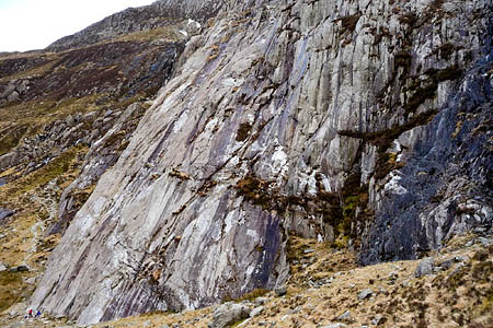 Idwal Slabs. Photo: Jeremy Bolwell CC-BY-SA-2.0