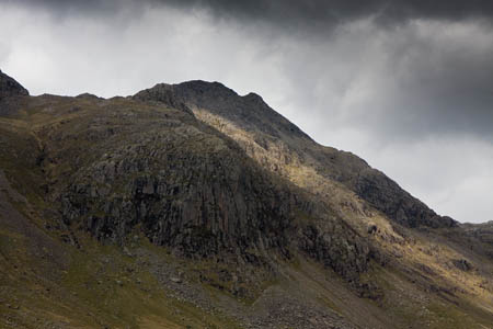 The man was injured when he fell on the Scafell Pike range