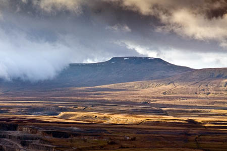 The 46-year-old was found on the Sulber Nick path between Ingleborough and Horton in Ribblesdale
