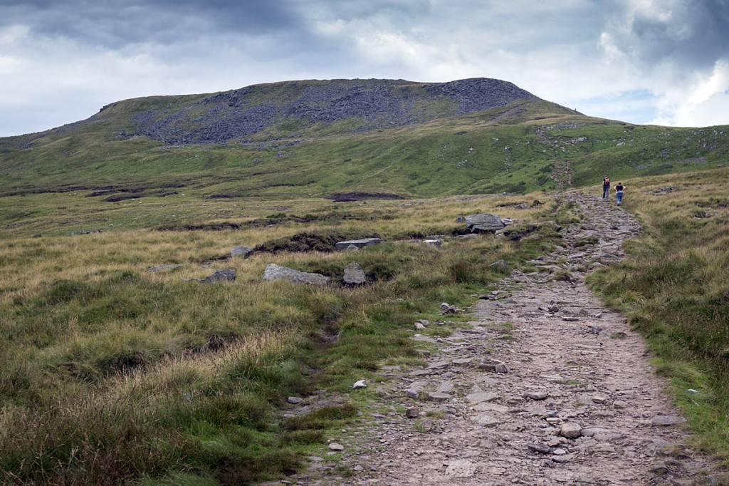 The group got lost while coming down from Ingleborough. Photo: Bob Smith/grough