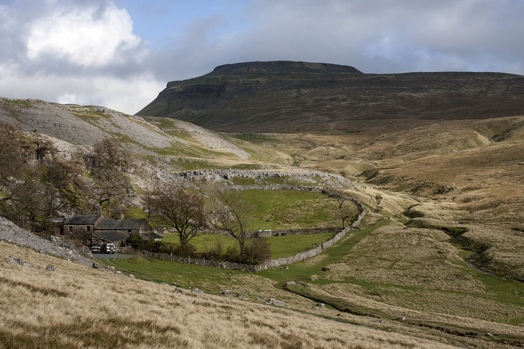 The new route would see walkers ascend Ingleborough via Crina Bottom. Photo: Bob Smith/grough