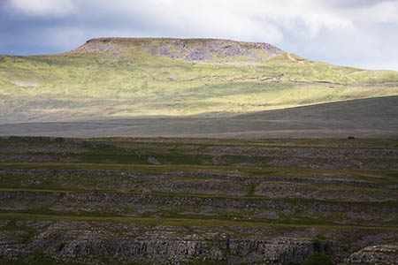 The walker broke his arm while coming down Ingleborough