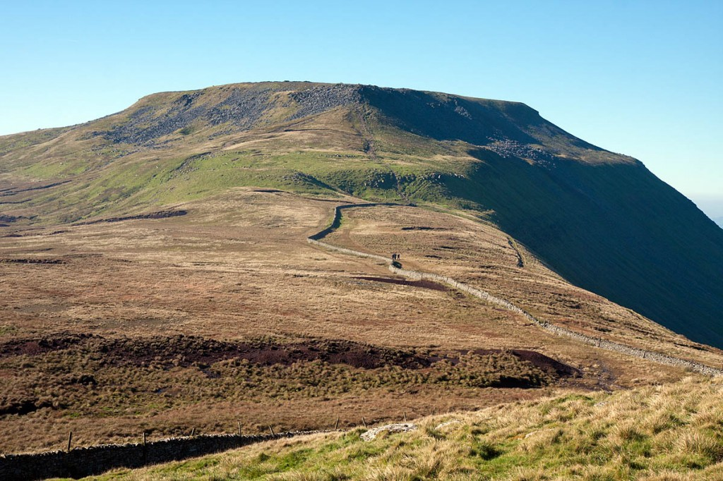 The Swine Tail area of Ingleborough