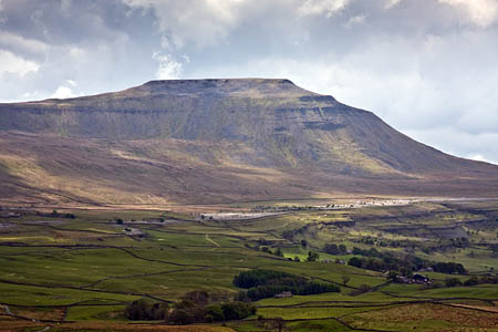 Ingleborough, once believed, erroneously, to be England's highest mountain