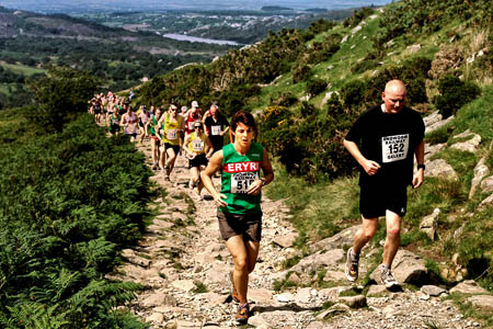 Race organisers said they wanted Snowdon closed to walkers. Photo: Denis Egan CC-BY-2.0