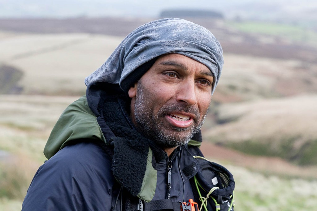 Javed Bhatti on the Pennine Way