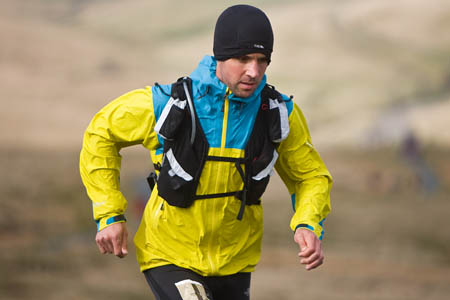 Jez Bragg completed the gruelling route despite being struck by Giardiasis