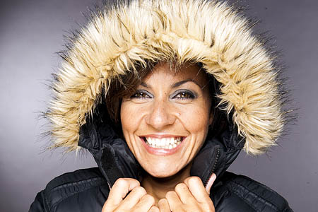Julia Bradbury: joining Hugh Dennis in the Yorkshire Dales