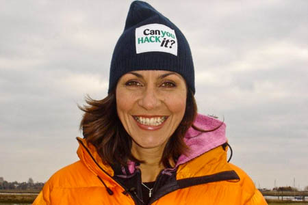 Julia Bradbury: said she hires different brands for presenting