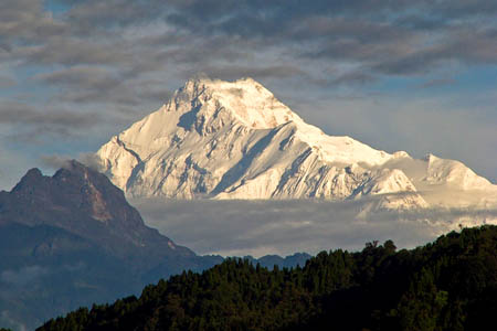 Kanchenjunga, first climbed by George Band and Joe Brown in 1955. Photo: proxygeek CC-BY-SA-2.0