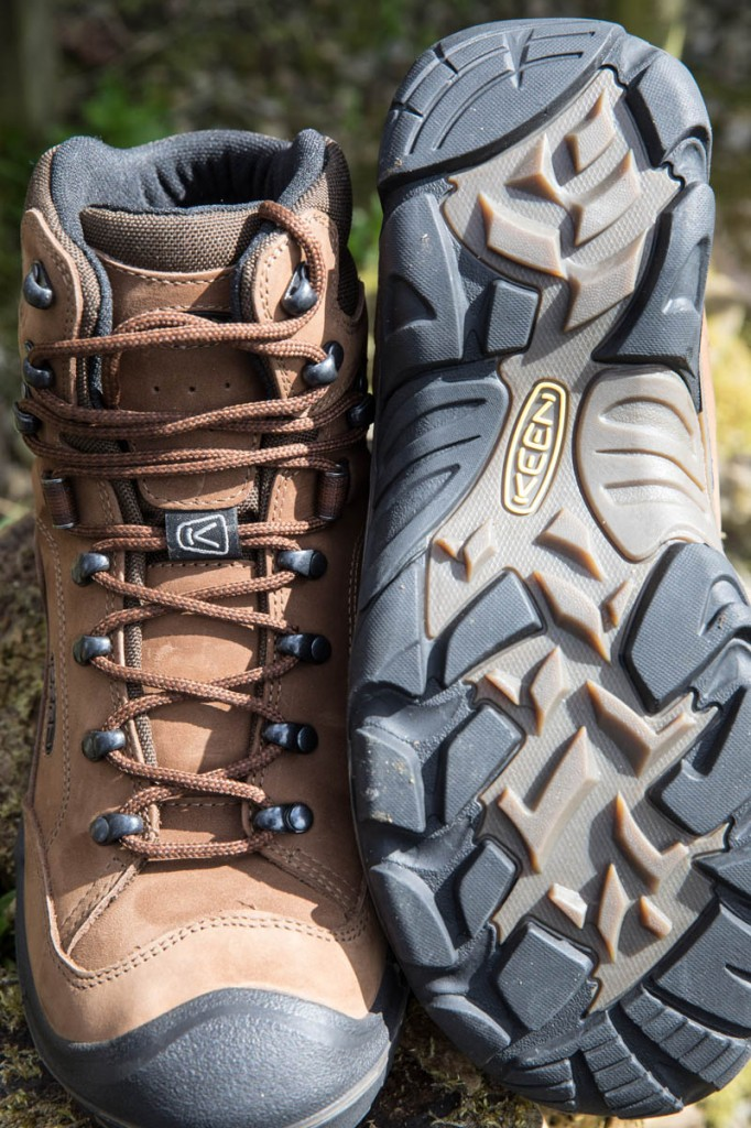 Keen Galleo Mid WP uppers and sole. Photo: Bob Smith/grough