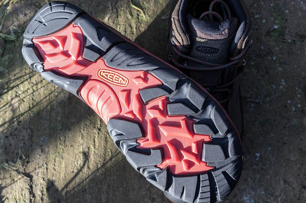 Grip from the double-compound outsole was very good