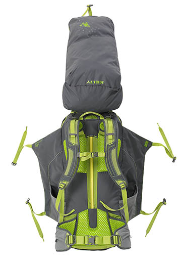 The Kelty TrailLogic rucksack uses no zips  sc 1 st  Grough & grough u2014 Kelty TrailLogic: pack tent sleeping bag and mat all in ...