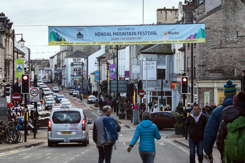 Kendal Mountain Festival provided an economic boost to the Cumbrian town
