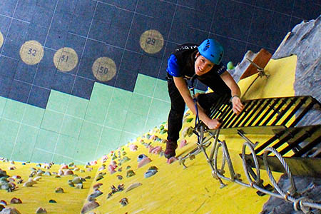 Kendal Wall owners said the indoor via ferrata is a first for Europe
