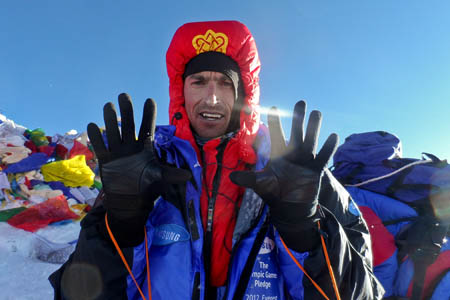 Kenton Cool announced plans to take his Everest tally beyond 10