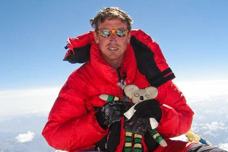 Kenton Cool: aiming for his eighth Everest summit