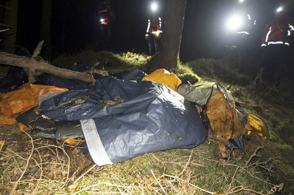 The 'body' turned out to be discarded rubbish. Photo: Keswick MRT