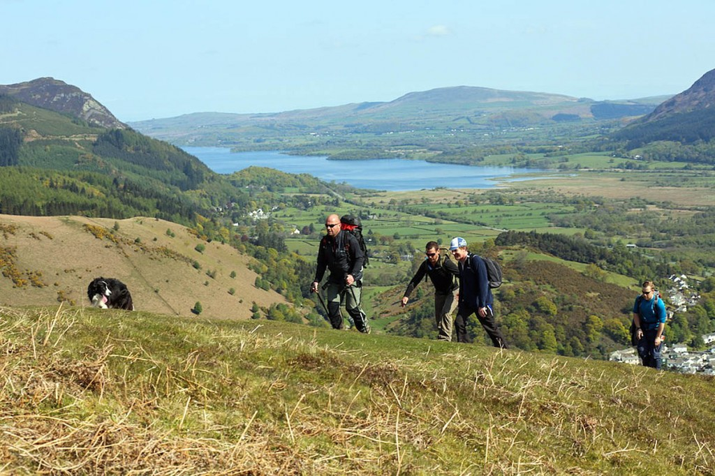 Walking is at the centre of the festival, organisers said