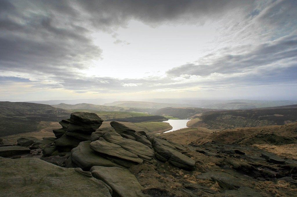 The 1932 trespassers were attempting to gain access to Kinder Scout