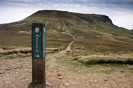 The family was found near the northern edge of Kinder Scout