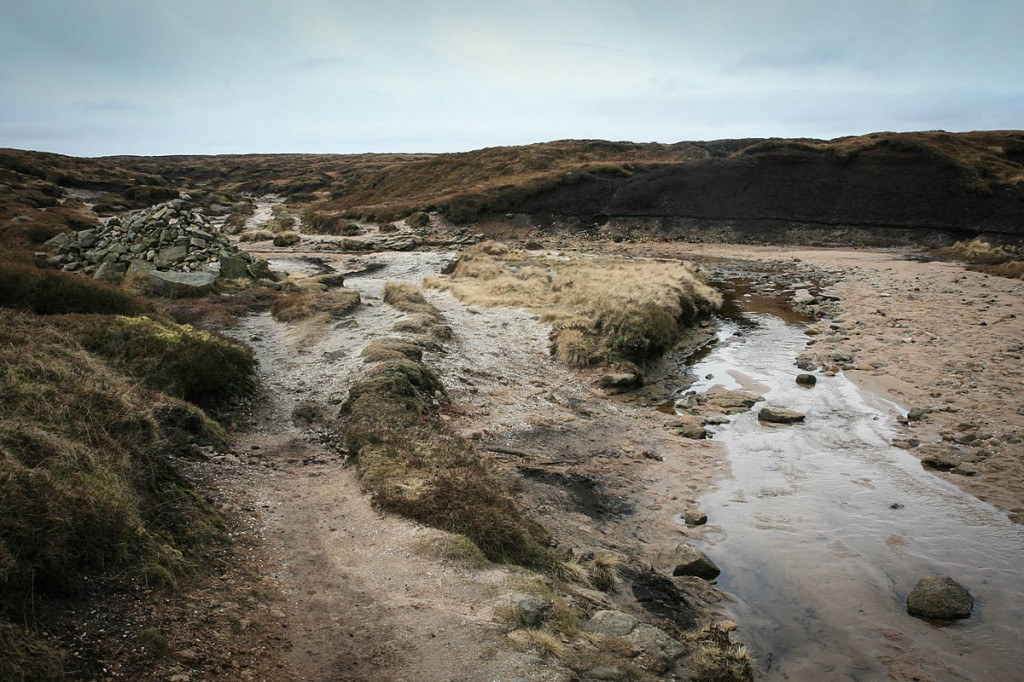 The couple became disoriented on the Kinder Scout plateau. Photo: Bob Smith/grough