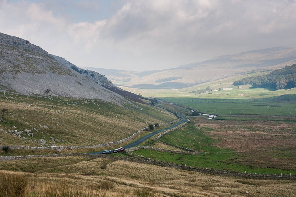 The incident happened in Kingsdale in the West of the Yorkshire Dales national park