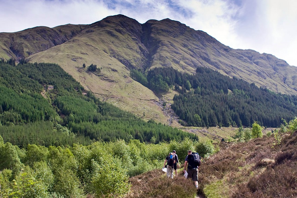 Walkers will be able to access the mountains of Scotland from Friday. Photo: Bob Smith/grough