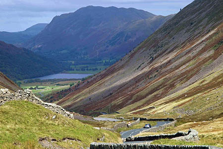 The Kirkstone Pass has been closed after an accident on the Patterdale side. Photo: Steve Fareham CC-BY-SA-2.0