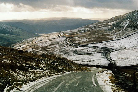 Drivers were caught out by winter weather on Kirkstone Pass. Photo: John Holmes CC-BY-SA-2.0