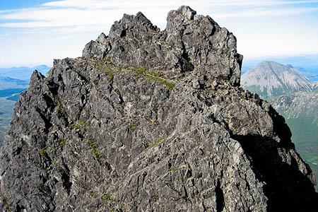 Knight's Peak, target for the hill sleuths' next venture. Photo: Gerald Davison CC-BY-SA-2.0