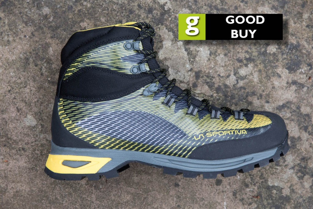 La Sportiva Trango TRK GTX. Photo: Bob Smith/grough