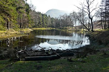 Lanty's Tarn. Photo: Gareth Jones CC-BY-SA-2.0