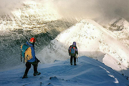 The avalanche happened in Liathach's Northern Corries. Photo: Walter Baxter CC-BY-SA-2.0